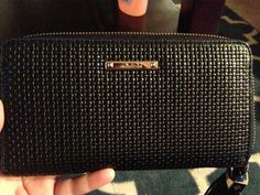 Love this Stella and Dot black leather wallet :)