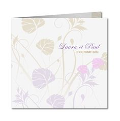 Faire part mariage nature │ Planet-Cards.com