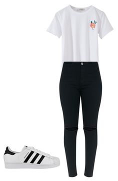 """""""Untitled #51"""" by iatarvin on Polyvore featuring adidas"""