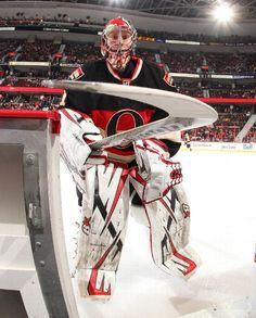 Washington Capitals vs. Ottawa Senators - Photos - January 29, 2013 - ESPN THIRD STAR: #41 Craig Anderson, Senators