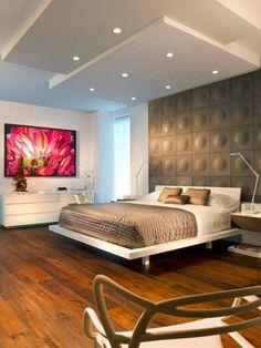 Decorating Modern Bedroom Ideas - Cute Decor
