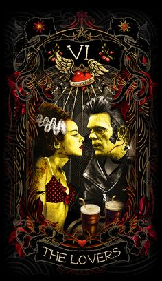 Psychobilly Tarot - The Lovers