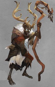Skeleton shaman