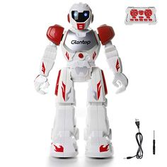 Glantop Remote Control RC Robots Toys, Interactive Walking Singing Dancing Smart Programmable Robotics for Kids Boys Girls Birthday Gift (Red) Rc Robot, Star Wars Gifts, Birthday Gifts For Girls, Robotics, Kids Boys, Boy Or Girl, Dancing, Remote, Superhero