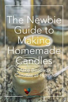 The Newbie Guide to Making Homemade Candles – Soy Candles İdeas Aromatherapy Candles, Beeswax Candles, Diy Candles, Soy Candle Making, Candle Making Supplies, Making Candles, Diy Marble, Candle Making For Beginners, Homemade Soy Candles