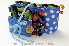 "I really like Mary Mulari's ""Trio of Bags."" It's an ideal gift."