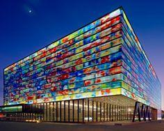 Mediacenter, Hilversum. Photo: courtesy of Neutelings Riedijk Architects