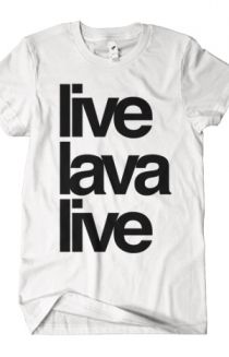 The live / lava / live Crew Neck - LiveLavaLive Shirt
