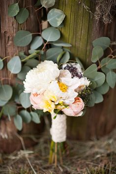 Peaches & Cream Inspiration by BRC Photography | magnolia rouge - bouquet