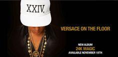 """¡Nuevo! Bruno Mars  estrena el segundo single llamado """"Versace On The Floor"""" de su nuevo álbum """"24K Magic"""" (Img+Audio)"""