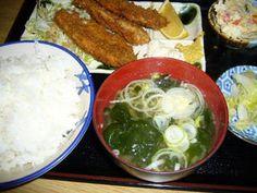 味美食堂 - 料理写真:アジのフライ定食