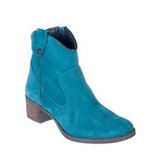 Botín campero azul / Blue ankle country boot #cuple