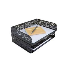 Brocade Stacking Letter Tray - Desk - Accessories