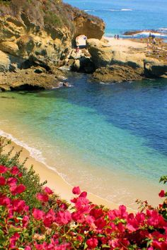 One of the most beautiful beaches in the world, Laguna Beach (This is my original photo, many others have copied)