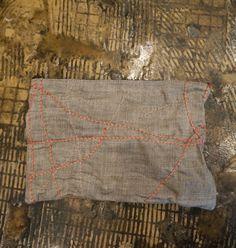 stitch work clutch
