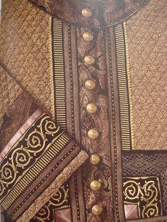 Veste en tissu broché et galons, La Bonne Renommée, 1992