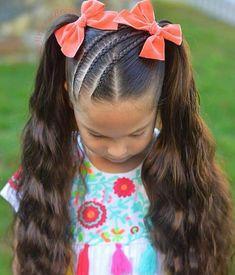 Hair Bun Ballet Hairstyles Ideas For 2019 Lil Girl Hairstyles, Little Boy Haircuts, Kids Braided Hairstyles, Braided Ponytail, Trendy Hairstyles, Ballet Hairstyles, Short Haircuts, Teenage Hairstyles, Toddler Haircuts