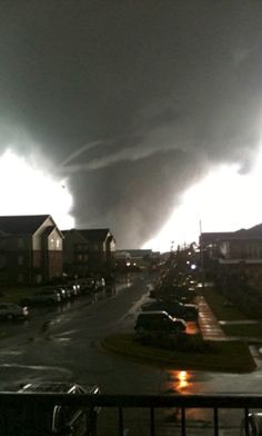 Tornado - Tuscaloosa, Alabama USA.  Related so much to the mother who came from Texas searching for her daughter who was a student at the UofA.  Remember when a tornado went through T-Town when my daughter was a student and how scared I was for her safety.  My story had a happy ending; this mom's did not.  Heartbreaking day... 4/27/2011