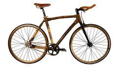 'zuri' handcrafted bamboo road bikes.