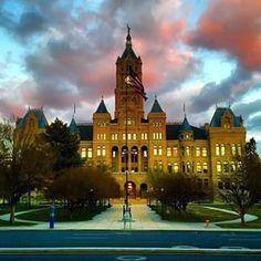 Beautiful architecture. Beautiful skies. Beautiful Salt Lake!