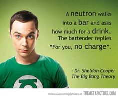 Love this joke....makes me think I'm not so dumb in science