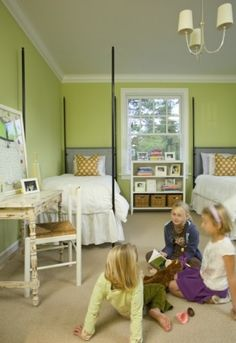 Guest bedroom or little girl's room