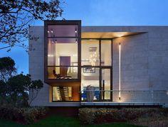 contemporary exterior by Jack deLashmet and Associates