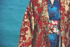 Lost in Kyoto Collection red golden rose от PurpleFishBowl2