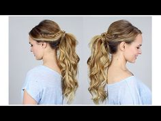 Big Ponytail Tutorial - How to get the volume! Inspired by Lucy Hale's VMA ponytail