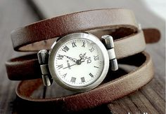 Vintage watch wrap watch by MotherMMountain on Etsy