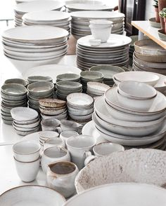 I could buy the whole shop every time I visit Nom Living, they have the most beautiful handmade ceramics.