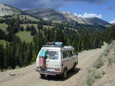 VW Syncro full camper