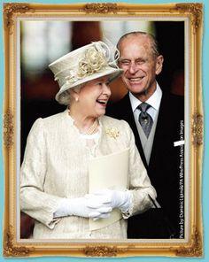 フィリップ殿下とエリザベス女王