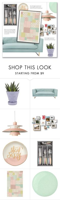 """""""Pastel Home Decor"""" by achernar ❤ liked on Polyvore featuring interior, interiors, interior design, home, home decor, interior decorating, Chive, Nimbus, Slant and Beija Flor"""