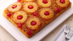 Recipes using yellow cake mix. Easy Pineapple Upside-Down Cake