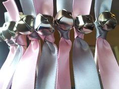 Hey, I found this really awesome Etsy listing at https://www.etsy.com/listing/216823427/100-ribbon-wedding-bell-wands-choose