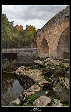 Ávila desde el Puente Adaja | Flickr - Photo Sharing!