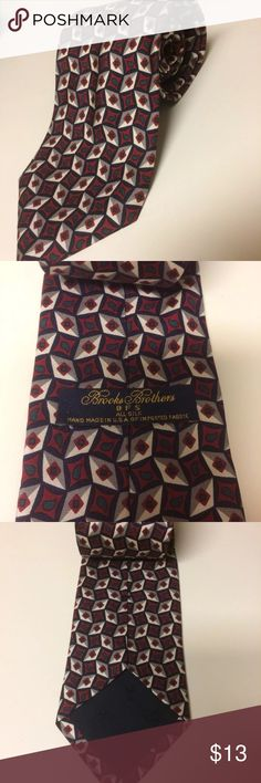 Brooks Brothers Genuine All Silk Tie BFS handmade Genuine Brooks Brothers Tie in great gently used condition. Hand made in the USA with imported fabric. Smoke free home! Make me an offer! Brooks Brothers Accessories Ties