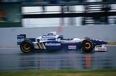 F1 Pictures Damon Hill, Williams F1, Gilles Villeneuve, Formula 1 Car, F1 Racing, Indy Cars, Classic Italian, Grand Prix, Custom Cars
