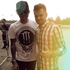 """""""Global star Adam Lambert in Poland! #adamlambert #ema2015 #eska #szczecin #interview #tvp1 #ghosttown #theorginalhigh @adamlambert"""""""