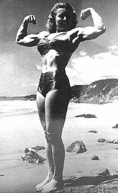 "The Strong Women that were the forerunners of female bodybuilding - Abbye ""Pudgy"" Stockton"