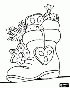 Diy christmas pictures kids coloring pages best Ideas Coloring Book Pages, Printable Coloring Pages, Free Coloring, Coloring Pages For Kids, Kids Coloring, Christmas Colors, Christmas Crafts, Christmas Stocking, Christmas Coloring Sheets