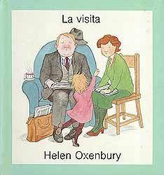 """""""LA VISITA"""" de Helen Oxenbury Una entrevista de trabajo en casa con niños por el medio es realmente una cosa bastante difícil y complicada. Si además tenemos un gato, y el visitante tiene alergia a los gatos, la cosa se complica todavía más. Este libro hará reír un buen rato a los mayores y a los pequeños. La que no se rió tanto es la mamá del libro, pues la entrevista de trabajo no le fue demasiado bien.  Signatura: BEBÉ MUN"""
