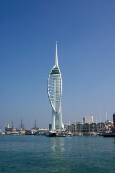Portsmouth - Spinnaker Tower - Beautiful view from the top! Loved it!