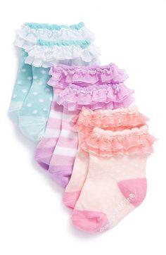 Baby Aspen 'Baby Cakes' Socks (3-Pack) (Baby Girls) | Nordstrom