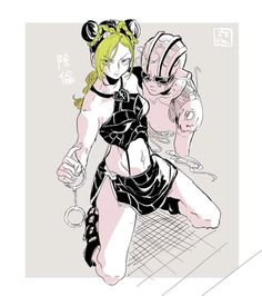 Jolyne Kujo and Stone Free Cyberpunk, Johnny Joestar, Jojo Parts, Jojo Anime, Sad Pictures, Jojo Memes, Best Waifu, Jojo Bizzare Adventure, Free Manga