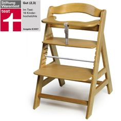 """Babies """"R"""" Us - Hauck Alpha High Chair - Natural Furniture Decor, Modern Furniture, Outdoor Furniture, Toddler Furniture, Outdoor Chairs, Outdoor Decor, Ladder Bookcase, Toy Store, Baby Accessories"""