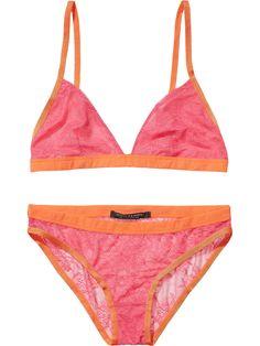 Scotch   Soda Lace Bra   Panty Set Matching Bra And Panty 137260000