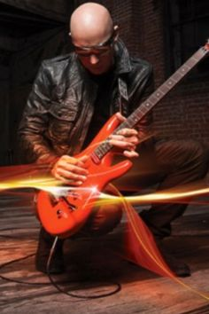 "Joe Satriani has released the music video for ""A Door Into Summer,"" a track off his upcoming album, Unstoppable Momentum, which will be released May 7 through Epic Records. Joe Satriani, Winterthur, Chur, Recital, Heavy Metal, Classic Rock Albums, Cool Album Covers, Best Guitarist, Truth And Lies"