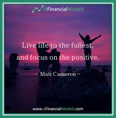 eFinancialModels offers a wide range of industry specific excel financial models, projections and forecasting model templates from expert financial modeling freelancers. Matt Cameron, Financial Modeling, Motivational Quotes, Inspirational Quotes, Priorities, Live Life, Quote Of The Day, Quotes To Live By, Positivity